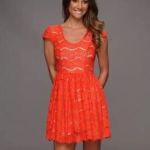 Red Lace Dress by Kensie
